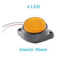 AE-LA565Y/24V 24V szélességjelző/helyzetjelző sárga