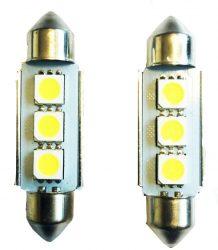 3SMD LED 39mm-es Szofita SMD-10X39-3SMD