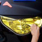 Autó lámpa-fólia sárga FN-LAMPAFOLIA/Y