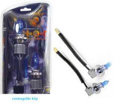HOD Halogén izzó H1 foglalattal emelt fényerővel-kék