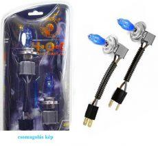 HOD Halogén izzó H7 foglalattal emelt fényerővel-kék 12V