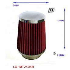 LG-MT2504R Direkt szűrő / Sport levegőszűrő piros