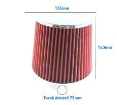 LG-MT2506/R Direkt szűrő nagyméretű  / sport levegőszűrő piros