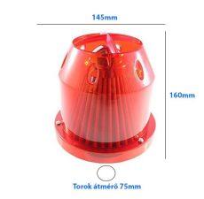 LG-MT2503RED Direkt szűrő / Sport levegőszűrő piros