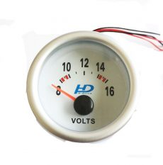 Fehér hátterű OR-LED7701 feszültségmérő