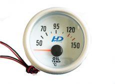Fehér hátterű OR-LED7703 olajhőmérséklet mérő