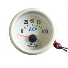 Fehér hátterű OR-LED7704 olajnyomásmérő