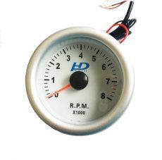 Fehér hátterű OR-LED7705 fordulatszám mérő