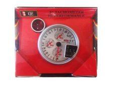 Kiegészítő műszer-Fordulatszámmérő váltásjelzővel extra műszerekkel LED-7785BL