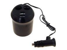 Kettes Szivargyújtó elosztó + USB AE-WF186/CM58609