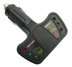 Akkumulátor/generátor teszter 12V AE-CC61716