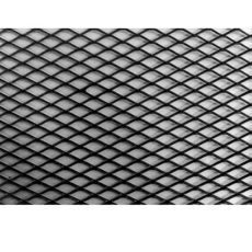 Alurács Aluminium díszrács (tuning rács) TR-BD-0015BK
