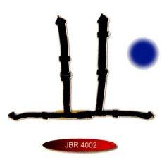 3 colos hagyományos csatos sport öv JBR-4002-3BL
