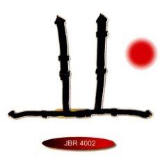 3 colos hagyományos csatos sport öv JBR-4002-3R
