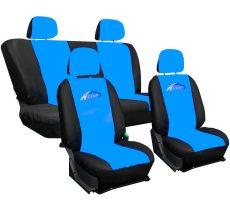 Univerzális Üléshuzat Fekete-kék UL-AG28458/L.BL