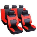 Univerzális Üléshuzat Fekete-piros UL-AG28458/BRR