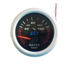 Fekete számlap OR-LED7702BK vízhőmérséklet