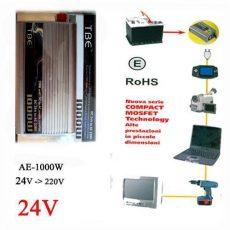 Inverter 500W AE-24V-220V/500W