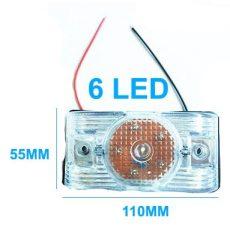 AE-LA562W 24V szélességjelző/helyzetjelző fehér