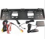 Autós tolatókamerás rendszámtábla keret + tolatóradar BG482-2
