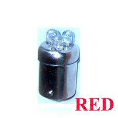 CSL2046R piros BA15S 21W LED Féklámpa