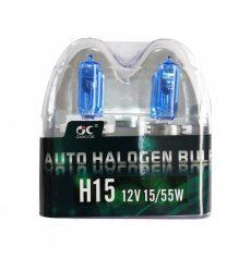 SUPER WHITE H15SB 15/55W Halogén izzó