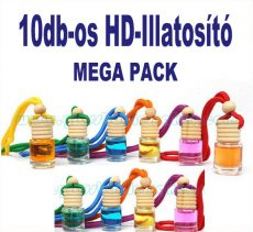 MEGA PACK  10db-os HD-ILLAT Illatosító
