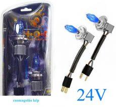 HOD Halogén izzó H7 foglalattal emelt fényerővel-kék 24V