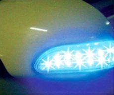 Tükör LED csík KL-LE2022BL Kék Fényű 2db