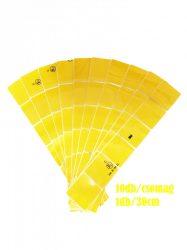M-3CY Sárga kockás fényvisszaverő csík