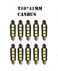 10db/csomag CANBUS 3SMD LED LA513C-41CS Szofita hűtőbordas