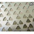 Alu rács Alumínium dísz rács Atom SILVER TR-MT0543-6-A