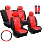 Univerzális üléshuzat UL-AG23001BR piros -fekete
