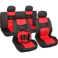 Univerzális üléshuzat UL-AG28505BKR piros -fekete