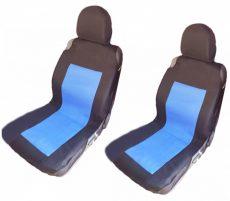 üléshuzat 2db-os vastag anyag kék