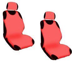 Trikó üléshuzat 2db-os piros Hagyományos