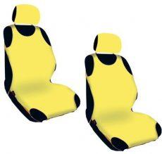 Trikó üléshuzat 2db-os sárga Hagyományos